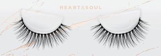 esqido false lashes Heart & Soul