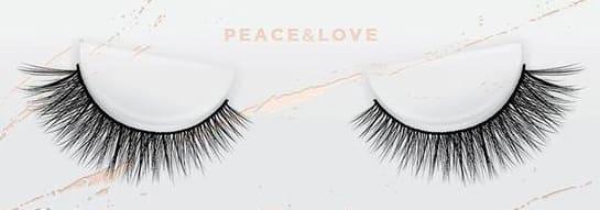 esqido false lashes Peace & Love