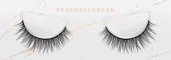 Peaches & Cream esqido false lashes