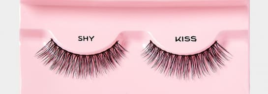 kiss lashes shy