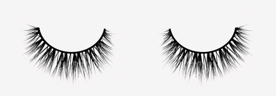 luxe lashes review velour Whispie Sweet Nothings 55