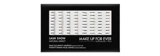 make up forever false eyelashes LASH SHOW N-601