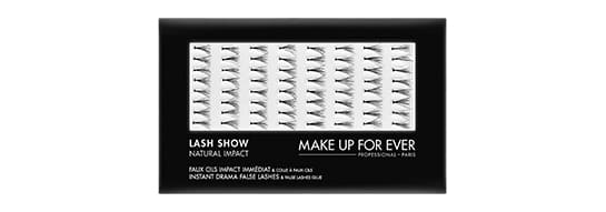 make up forever false eyelashes LASH SHOW N-602