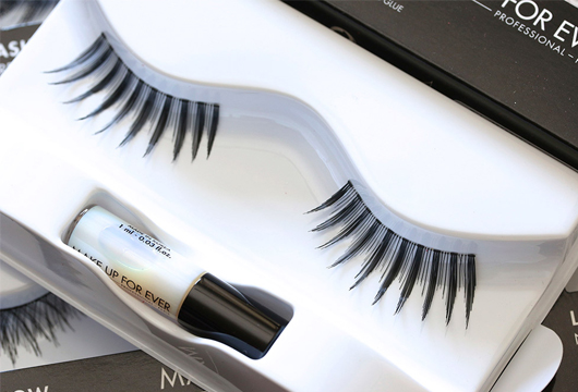 make up forever eyelashes products