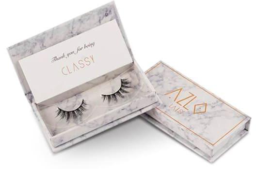 false eyelashes Azlo classy