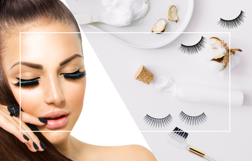 How to Clean False Eyelashes banner mob