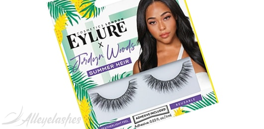 Eylure: Jordyn Woods Summer Heir Lashes