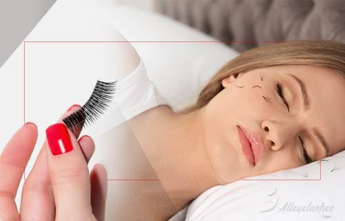 Can You Sleep with False Eyelashes on?